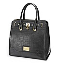 Lipsy Moc Croc Large Day Bag