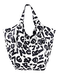 Religion Insight Graffiti Shoulder Bag