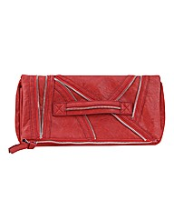 Religion Fragmented Fold Over Clutch