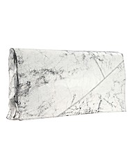 Religion Cracked Oversized Clutch