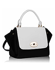 Petal Dolls Monochrome Bag