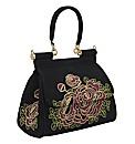 Malissa J Emboridery Mid Sized Bag