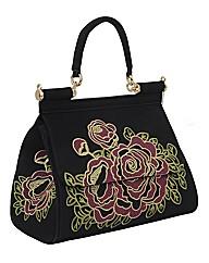 Malissa J Emboridery Large Bag