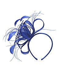 Cobalt Blue Fascinator