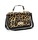Leopard Print Messenger Bag