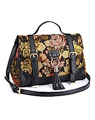 Tapestry Messenger Handbag
