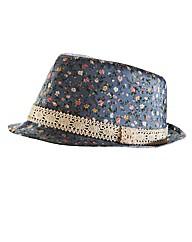Print Trilby Hat