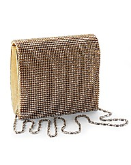 Diamante Clutch Bag