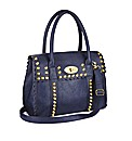 Stud Detail Messenger Handbag