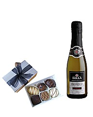 Prosecco Mini bottle (20cl) & Chocolates