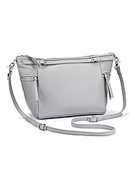 Slouch Style Overbody Leather Handbag