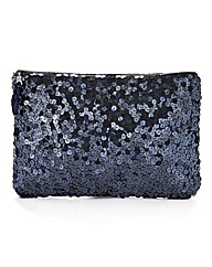 Joanna Hope Sequin Clutch Bag