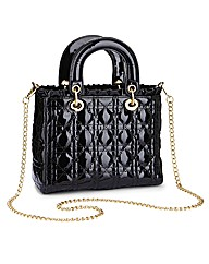 Quilted Grab Handbag