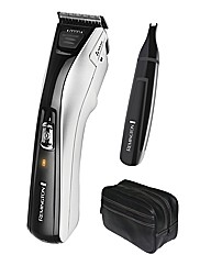Remington Hair Clipper + Nose Trimmer