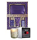 French Lavender Gift Set & FREE Candle