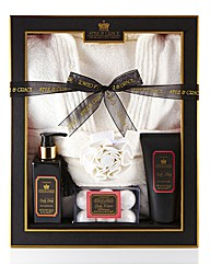 Pink Peppercorn Deluxe Robe Gift Set