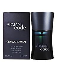 Armani Code Pour Homme 50ml EDT