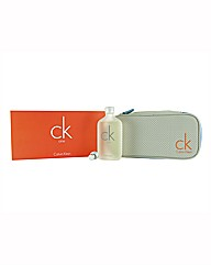 CK One 100ml EDT & Toiletry Bag