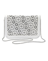 Lazer Cut Clutch Bag