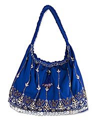 Bead Detail Beach Bag