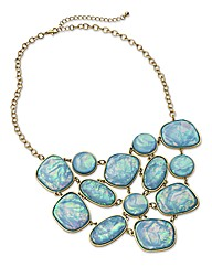 Iredescent Jewelled Necklace