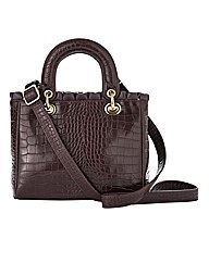 Joanna Hope Croc Effect Grab Bag