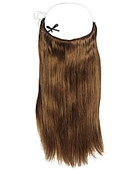 Halo 20in Hair Extensions Light Chestnut