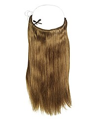 Halo 20in Hair Extensions Golden Brown