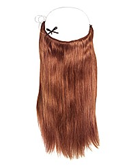 Halo 16in Hair Extension Dark Auburn