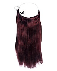 Halo 20in Hair Extensions Plum