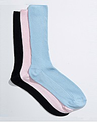 Ladies Swollen Ankle Soft Grip Socks