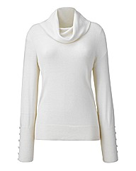 Nightingales Cowl Neck Sweater