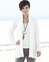 Nightingales Crochet Back Cardigan