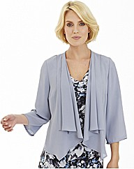 Nightingales Georgette Waterfall Blouse
