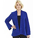 Nightingales Textured Jersey Cardigan
