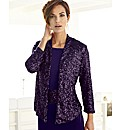 Nightingales Sequin Cardigan