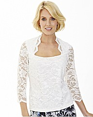 Nightingales Lace Top