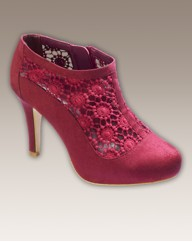 And Abigail Lace Shoe Boots E Fit