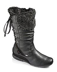 Relife Hi Leg Back Lace Casual Boots EEE