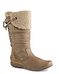 Relife Hi Leg Back Lace Casual Boots E
