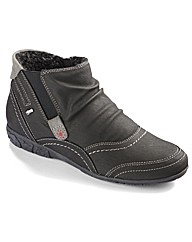 Relife Warm Lined Zip Low Ankle Boots E
