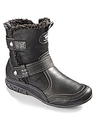 Relife Warm Lined Boots E Fit