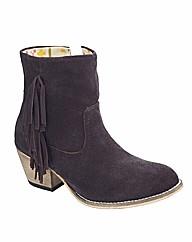 Jeffrey & Paula Tassel Boots EEE Fit