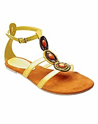 Emotion Beaded Sandals E Fit