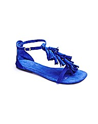 Joe Browns Fringe Sandals E Fit