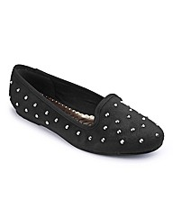 Heavenly Soles Studded Pumps E Fit