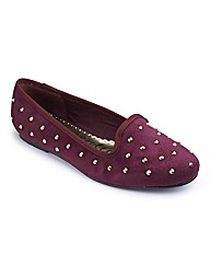 Heavenly Soles Studded Pumps EEE Fit