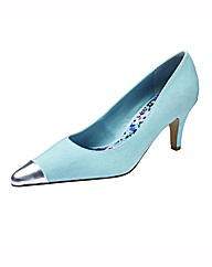 Grazia Pointy Toe Court Shoes E Fit