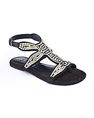 Anna Scholz Studded Sandals EEE Fit