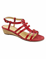 Emotion Gladiator Low Wedge Sandals EEE